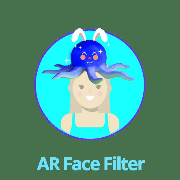 AR Face Filter photo